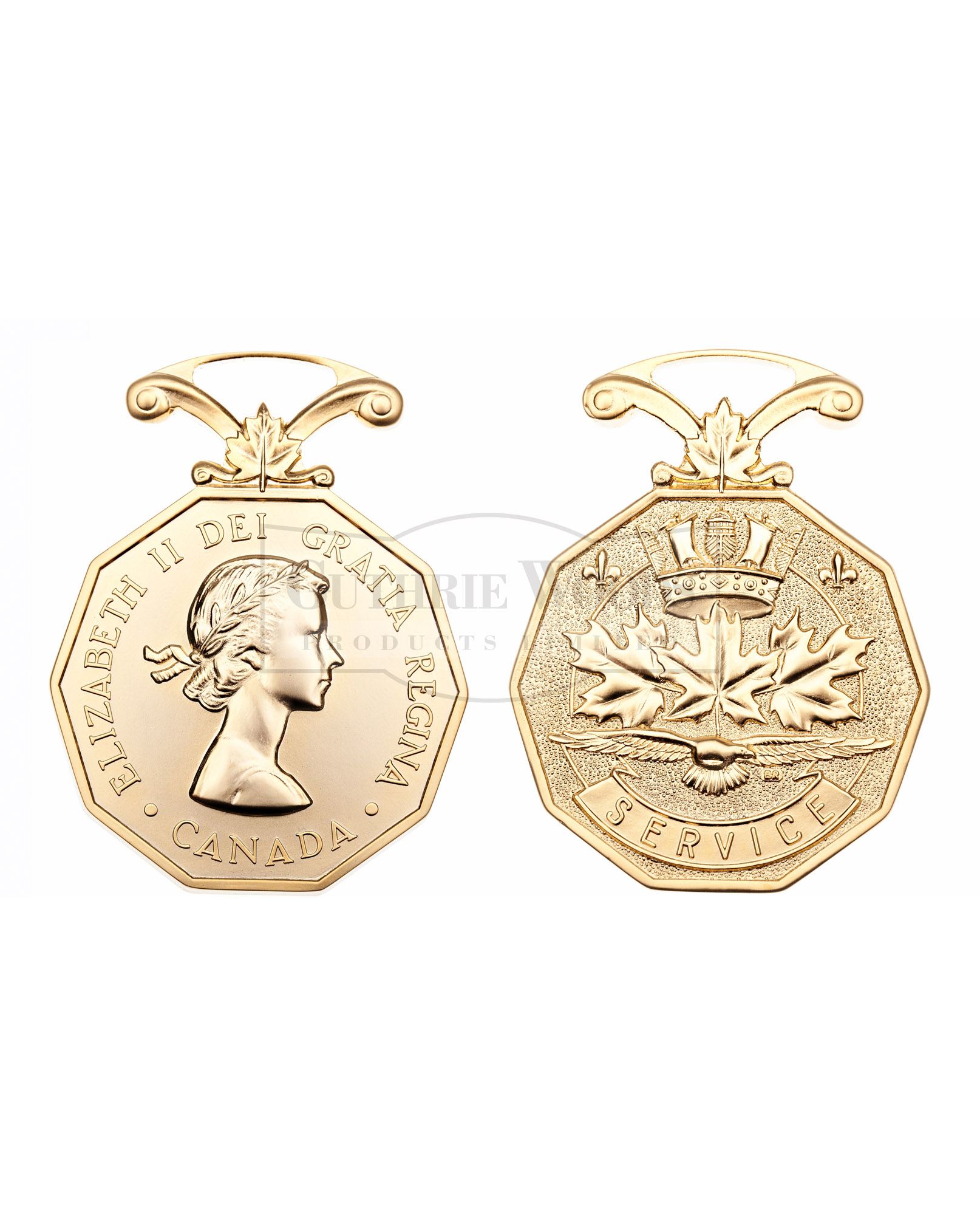 Canadian Forces Decoration (CD) #211-FS - Medal