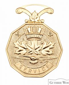Canadian Forces Decoration (CD), miniature