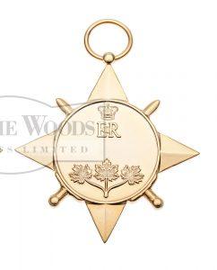 General Campaign Star (GCS), miniature
