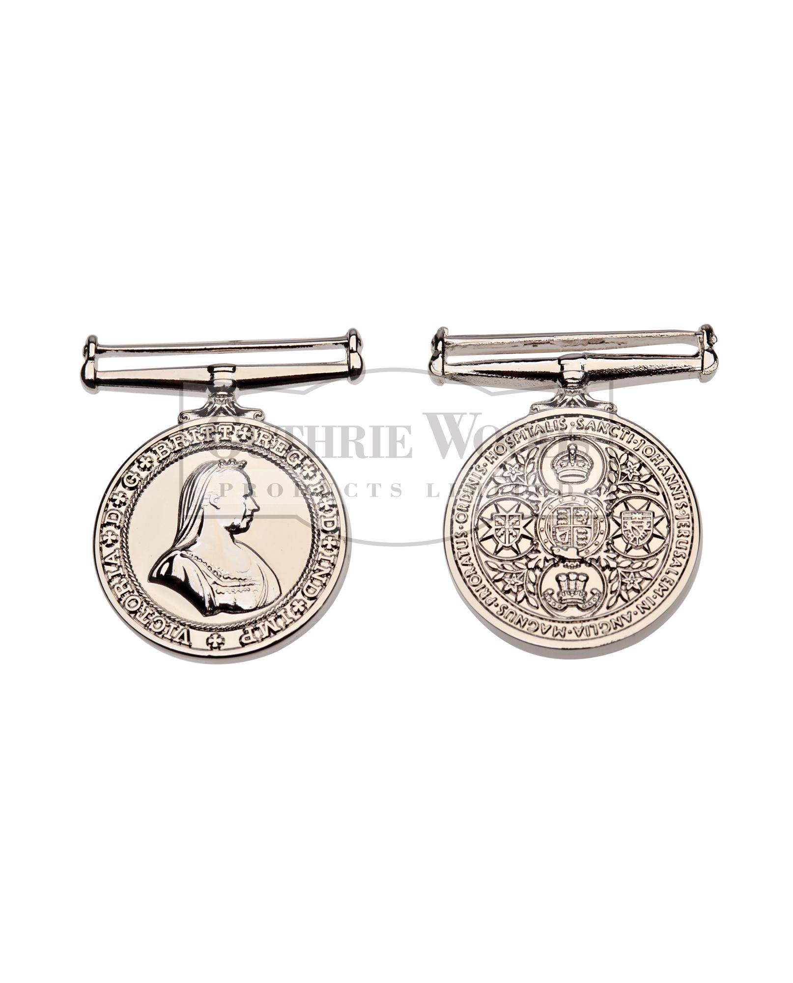 Order of St. John Long Service - Medal