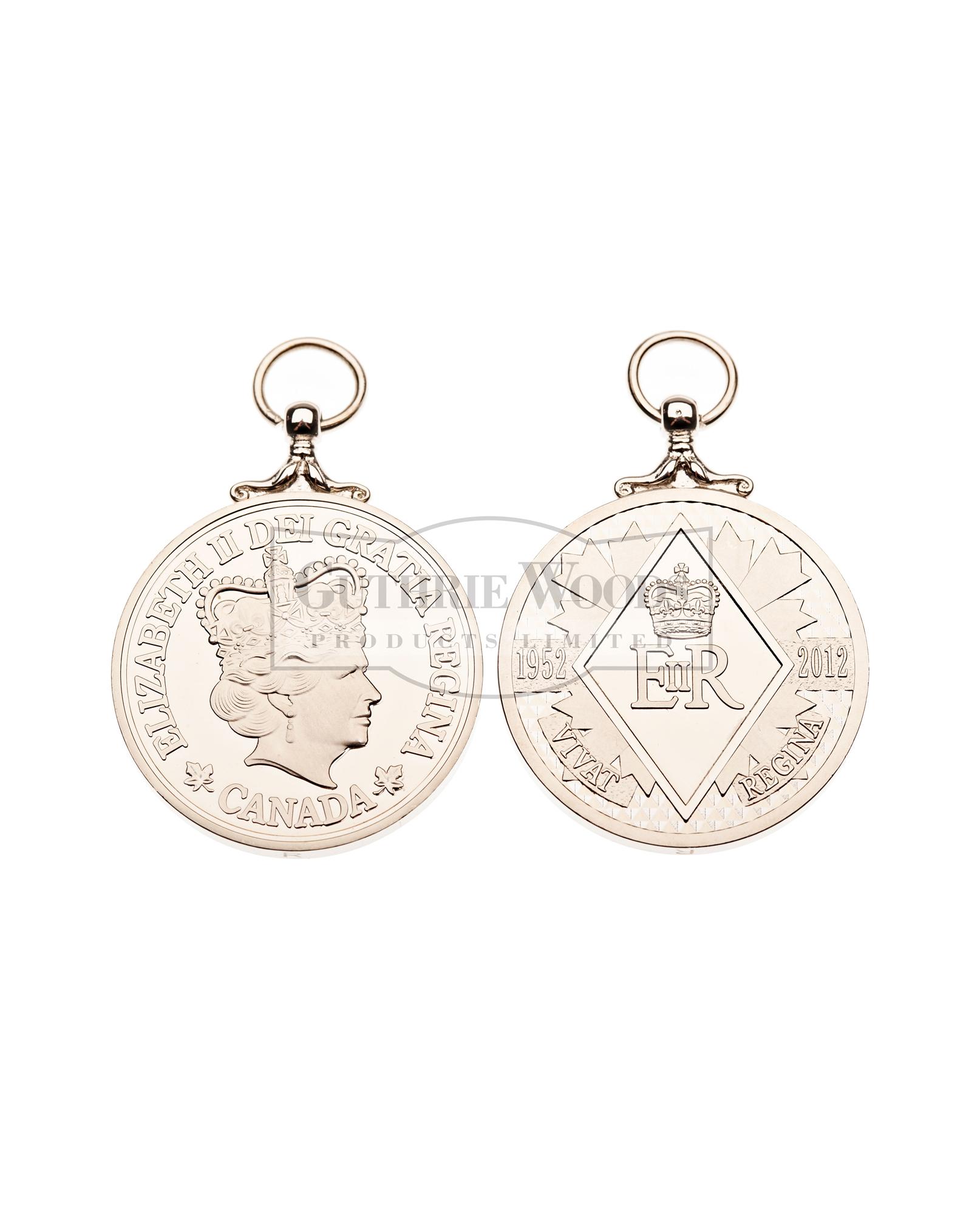 Queen's Diamond Jubilee (QDJM) - Medal