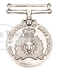 RCMP Long Service Medal (Francais)