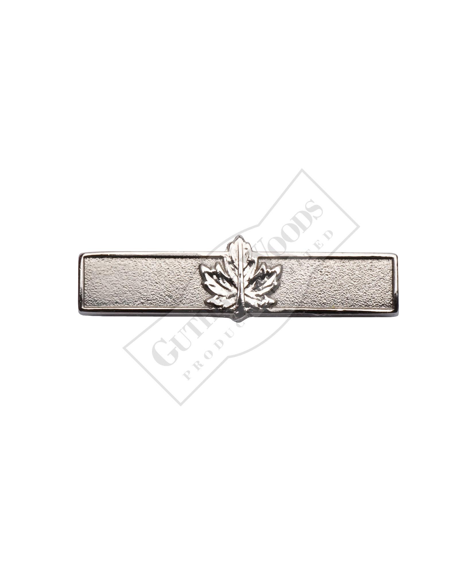 Rotation Bar, Single Leaf, Silver #245-S
