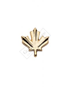 Gold Maple Leaf - Undress Ribbon Devices #247-G