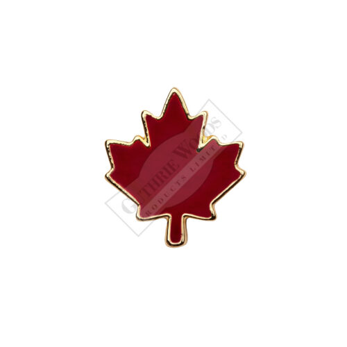 Red Maple Leaf - Undress Ribbon Devices #247-R