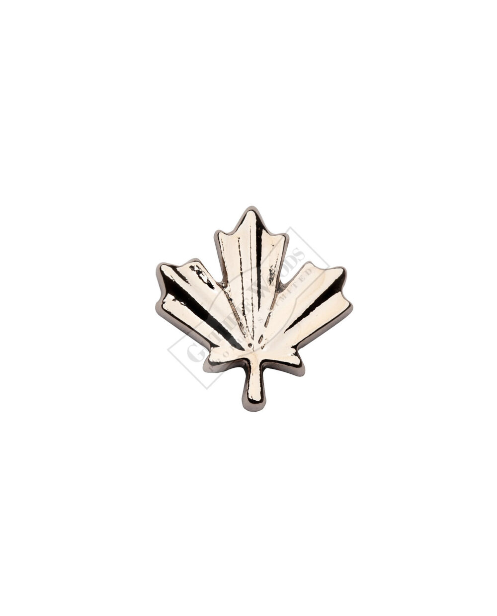 Silver Maple Leaf - Undress Ribbon Devices #247-S