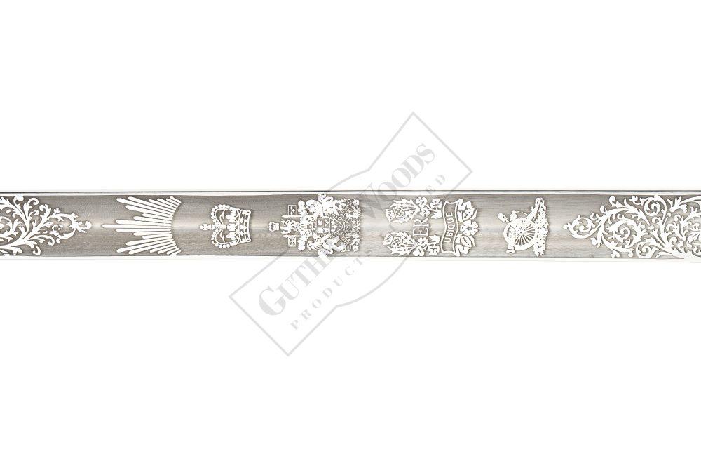 Artillery Officer's Sword - 271-A