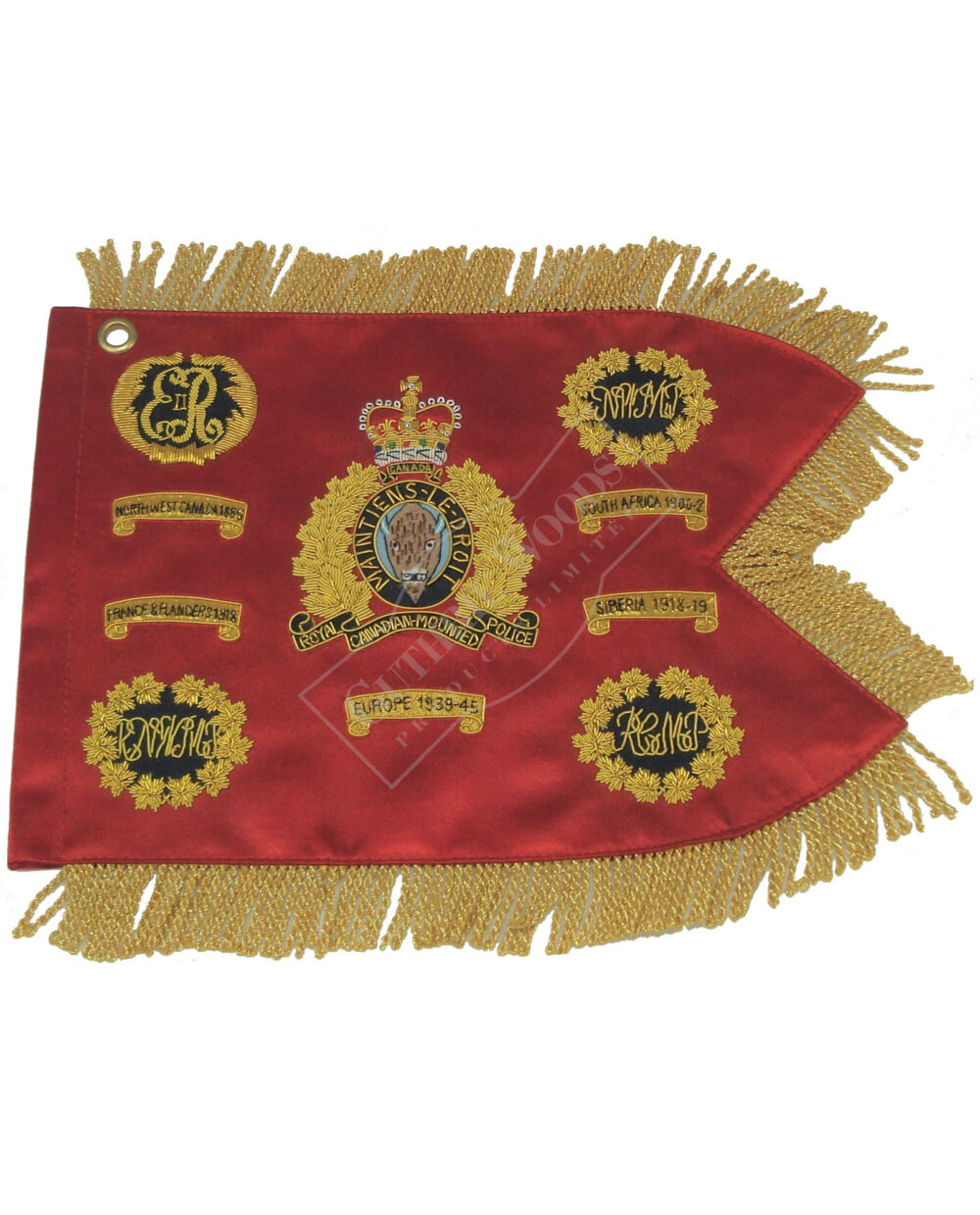 RCMP Miniature Guidon R172-G