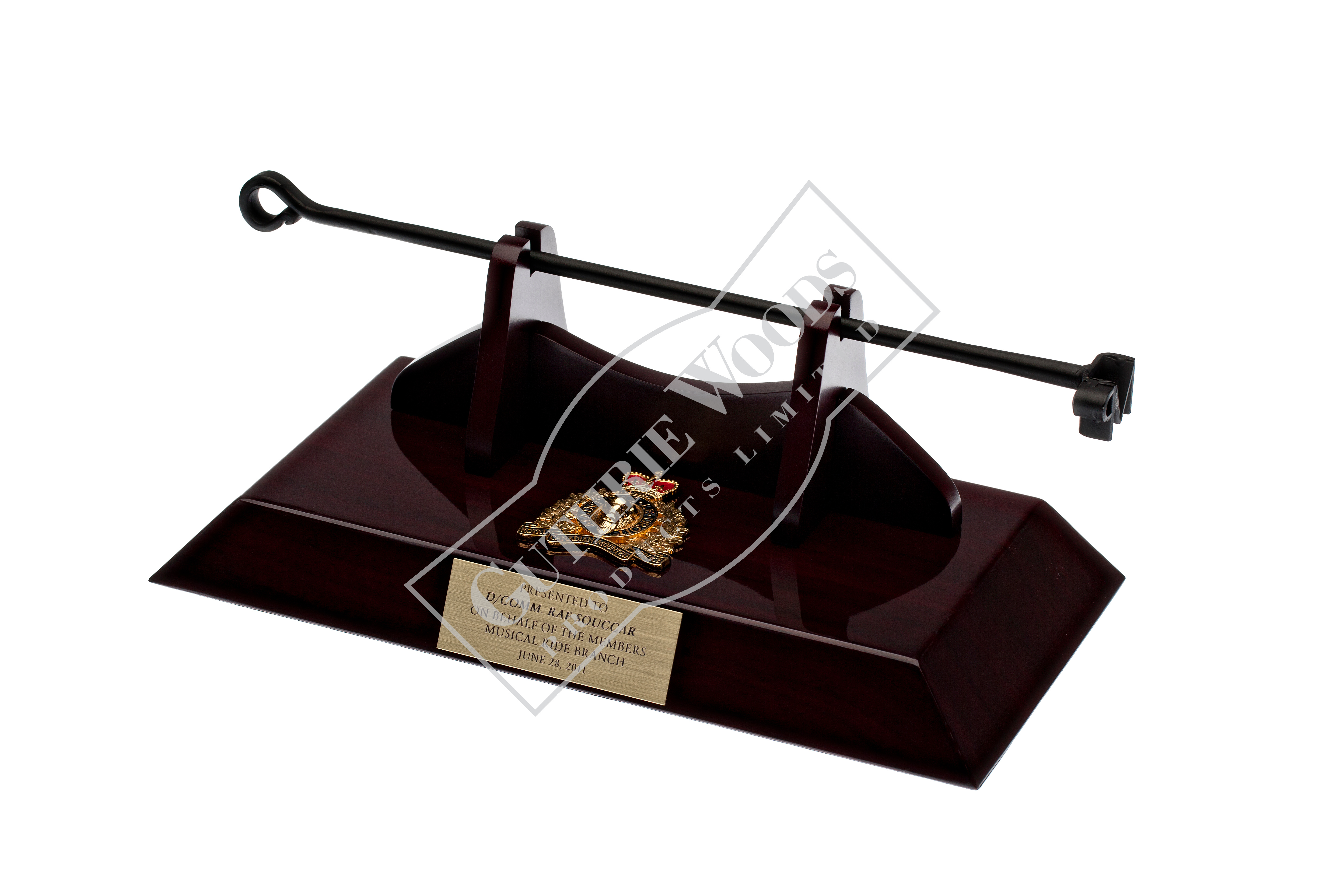 #R321-B-PR--Branding Iron_presentation mounted