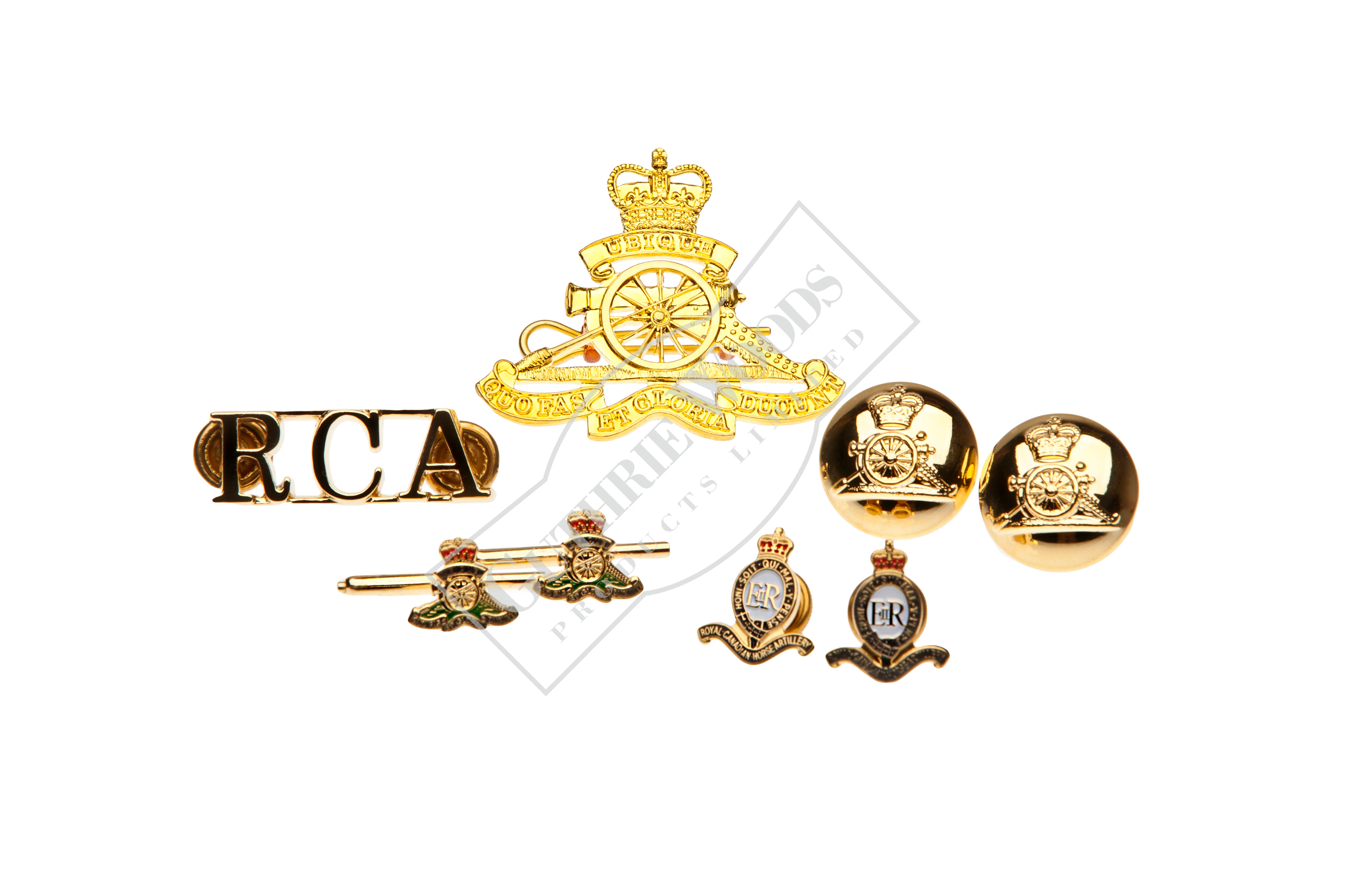 RCA Accoutrement Set Metal