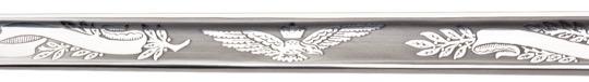 RCAF blade etching-closeup